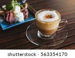 Coffee Cappuccino In A Coffee...
