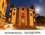 immaculate conception church in ...   Shutterstock . vector #563382994