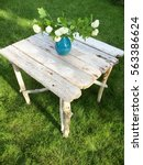 Handmade Driftwood Table In Th...