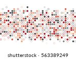random circles. vector...   Shutterstock .eps vector #563389249