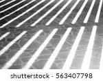 gray floor with shadow texture | Shutterstock . vector #563407798