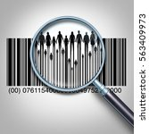 customer search and searching... | Shutterstock . vector #563409973