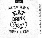 grunge print design for t shirt ...   Shutterstock .eps vector #563410330