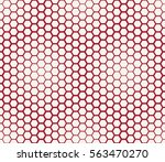 abstract geometric graphic... | Shutterstock .eps vector #563470270