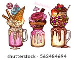 monstershakes in color sketch...