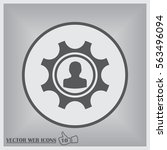 cogwheel and development icon