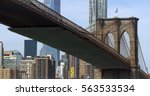 The Brooklyn Bridge With The...