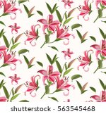 abstract pattern with lily...