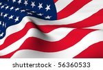 flag of the united states of... | Shutterstock . vector #56360533