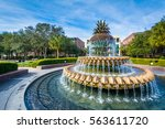 The Pineapple Fountain  At The...
