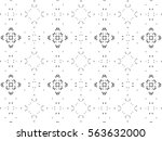 picture with black and white... | Shutterstock . vector #563632000