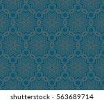 geometric shape abstract vector ... | Shutterstock .eps vector #563689714