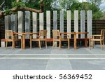 External Restaurant - stock photo