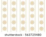 arabic pattern. seamless... | Shutterstock .eps vector #563725480
