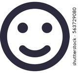 smiley vector icon