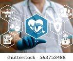 medicine  assurance  healthcare ... | Shutterstock . vector #563753488