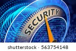 security as a global issue.... | Shutterstock . vector #563754148