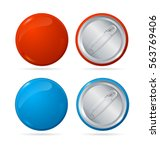 template color blank circle... | Shutterstock .eps vector #563769406