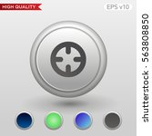 colored icon or button of... | Shutterstock .eps vector #563808850