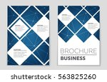 abstract vector layout...   Shutterstock .eps vector #563825260