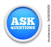 ask questions icon   Shutterstock .eps vector #563830000