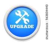 upgrade icon | Shutterstock .eps vector #563834440