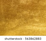 shiny yellow leaf gold foil...   Shutterstock . vector #563862883
