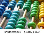 Color And Texture Of Abacus