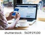 bangkok. thailand. january 24  ... | Shutterstock . vector #563919100