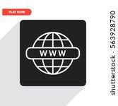internet line vector icon | Shutterstock .eps vector #563928790
