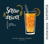 modern hand drawn lettering... | Shutterstock .eps vector #563930926