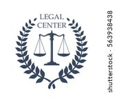 Legal Or Juridical Center Icon...