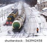 Locomotive Is On The Railroad...