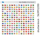 vector collection of all world... | Shutterstock .eps vector #563951350