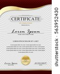 certificate template.luxury