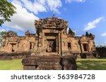 prasat muang tam near prasat... | Shutterstock . vector #563984728