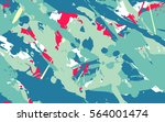 seamless texture of dynamic... | Shutterstock .eps vector #564001474