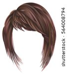Trendy  Woman  Hairs Kare Wit...