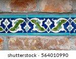 beautiful ceramic tiles   Shutterstock . vector #564010990