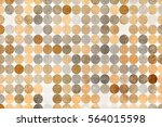 abstract blended texture... | Shutterstock . vector #564015598