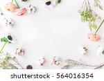 stylish branding mockup to...   Shutterstock . vector #564016354