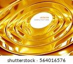 rendering abstract bionic... | Shutterstock . vector #564016576