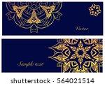 set of  mandala logo design...   Shutterstock .eps vector #564021514