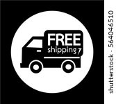 free shipping icon   Shutterstock .eps vector #564046510