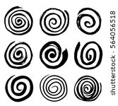 Set Of Swirling Circles....
