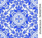 Portuguese Azulejo Tiles. Blue...