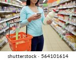sale  shopping  consumerism and ... | Shutterstock . vector #564101614