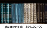 old books in the library | Shutterstock . vector #564102400