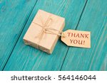 gift box and tag with text ... | Shutterstock . vector #564146044
