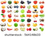 fruits and vegetables | Shutterstock . vector #564148633